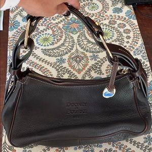 Vintage Dark Brown Leather Dooney & Bourke Purse
